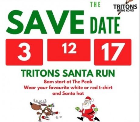 Tritons Santa Run 2017