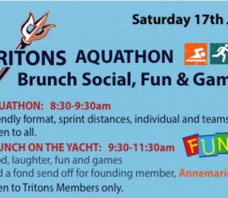 Tritons Aquathon/Boat Party Social