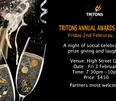 TRITONS ANNUAL AWARDS DINNER