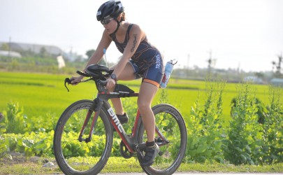 Ironman 70.3 Taiwan, Taitung Race Report by Stephanie L.