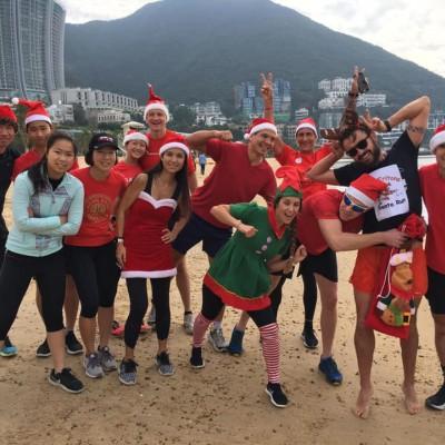 Santa Run - slide 26