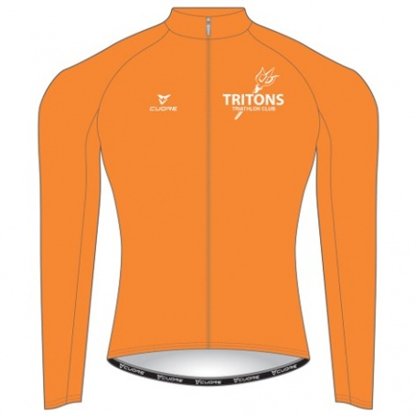 THERMAL WINDSHIELD JERSEY WITH REFLECTIVE STRIP